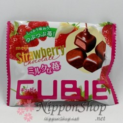 Meiji Strawberry Chocolate - CUBIE