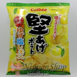 Calbee Kataage Potato Chips - Yuzu Shio Lemon