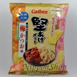 Calbee Kataage Potato Chips - Ume Katsuo