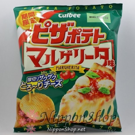 Calbee Pizza Potato Chips - Margherita