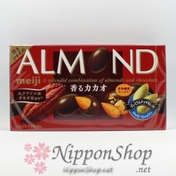meiji ALMOND chocolates - Kaoru Kakao