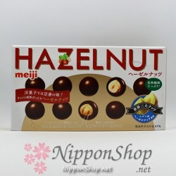 meiji HAZELNUT chocolates