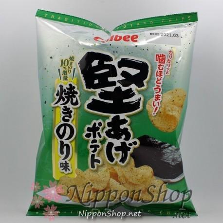 Calbee Kataage Potato Chips - Yakinori