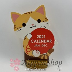 Desktop Calendar 2021 - Playing Neko