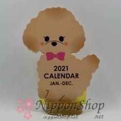 Desktop Calendar 2021 - Poodle
