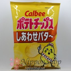 Calbee Potato Chips - Shiawase Butter