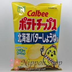 Calbee Potato Chips - Hokkaido Butter Shoyu