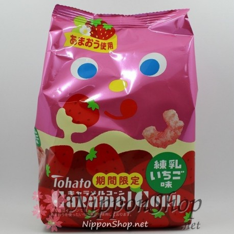 Caramel Corn - Kondensmilch Erdbeere