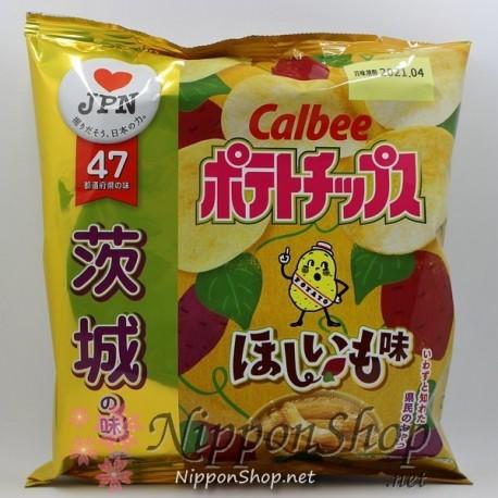 Calbee Regional Potato Chips - Ibaraki Hoshiimo
