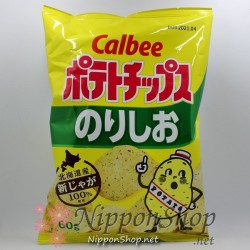 Calbee Potato Chips - Nori Shio