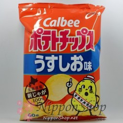Calbee Potato Chips - Usushio