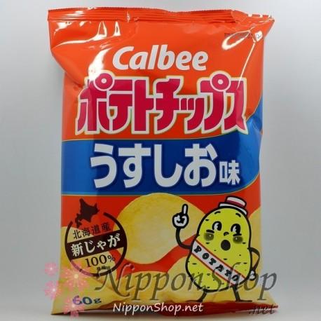 Calbee Potato Chips - Usushio