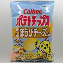 Calbee Kartoffelchips - Gohoubi Cheese