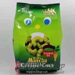 Caramel Corn - Uji Matcha