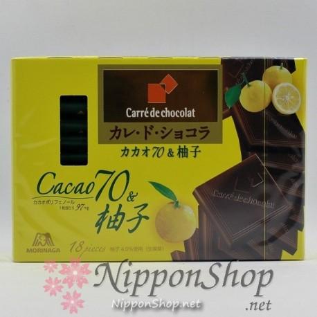 Carrè de chocolat - Cacao 70 & Yuzu