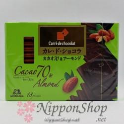 Carrè de chocolat - Cacao 70 & Almond