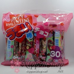 HAPPY VALENTINE Umaibo - Schokolade
