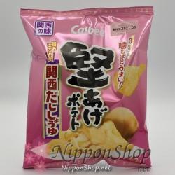 Calbee Kataage Potato Chips - Kansai Dashi Shoyu