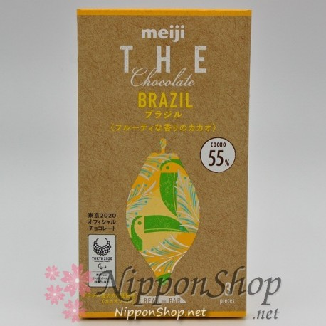 Meiji THE Chocolate - BRAZIL 55