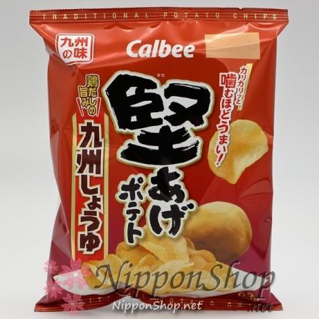 Calbee Kataage Potato Chips - Kyushu Shoyu