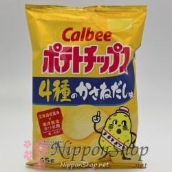 Calbee Potato Chips - 4 Kasane Dashi
