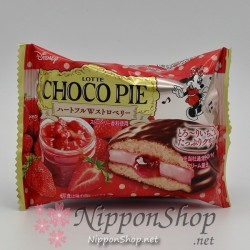 Choco Pie Premium - Heartful W Strawberry