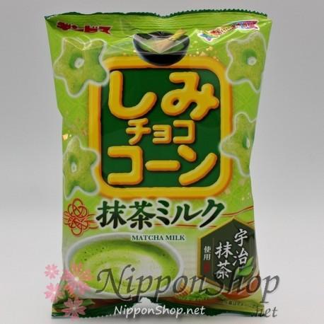 Shimi Choco Corn - Matcha Milk