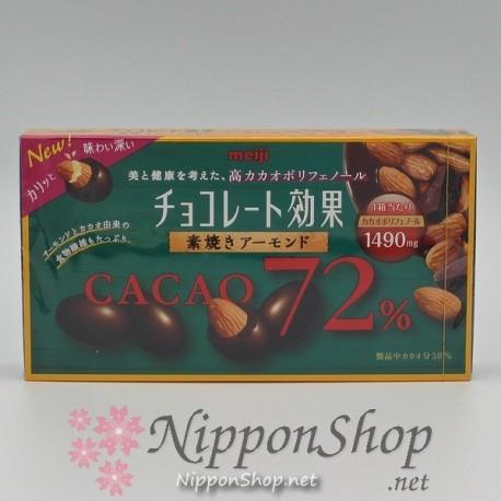 Chocolate Kouka ALMOND - Cacao 72%