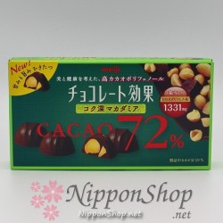 Chocolate Kouka MACADAMIA - Cacao 72%