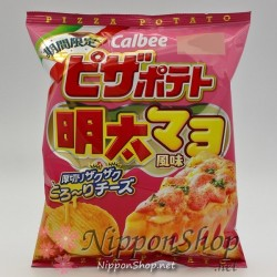 Calbee Pizza Potato Chips - Mentai Mayo