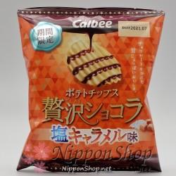 Calbee Zeitaku Chocola - Shio Caramel