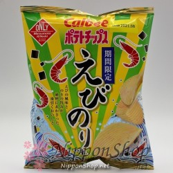 Calbee Limited Potato Chips - Ebi Nori