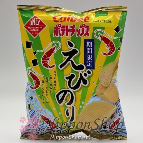 Calbee Limited Potato Chips - Ebi Nori