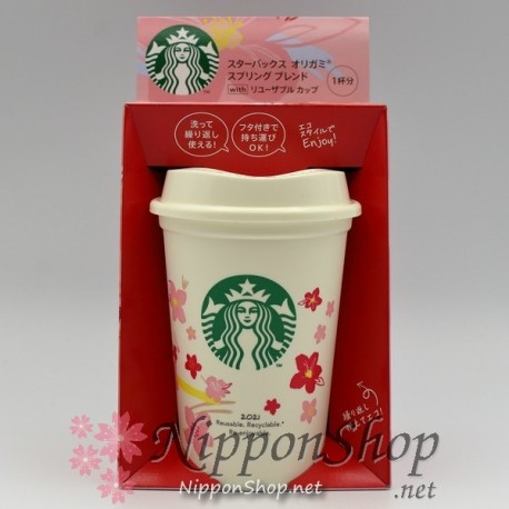 Starbucks Origami Spring Blend with Cup