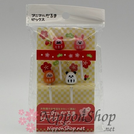 Bento Picks - Animal Daruma