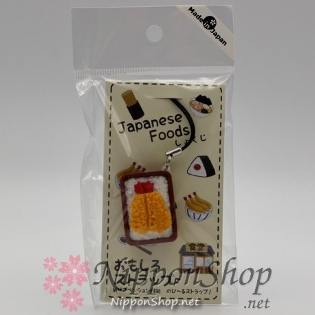 Japanese Foods Strap - Ebi Fry Bento