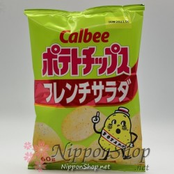 Calbee Kartoffelchips - French Salad