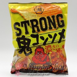 Koikeya Potato Chips - STRONG Oni Consomme