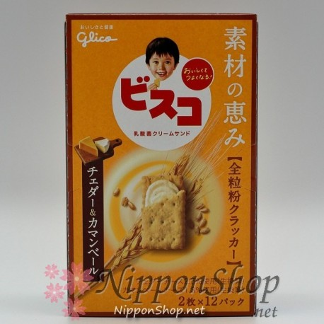 Bisko Full Grain - Cheddar & Camembert