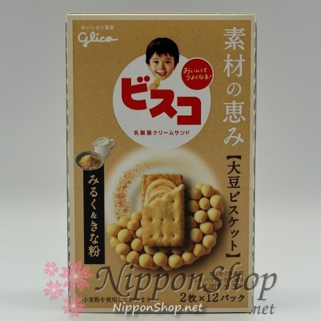 Bisko Soya - Milk & Kinako