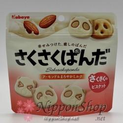 Sakusaku Panda - Almond & Maroyaka Milk