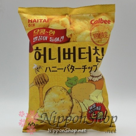 Haitai Potato Chips - Honey Butter