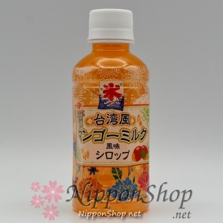 Taiwan Mango Milk Syrup