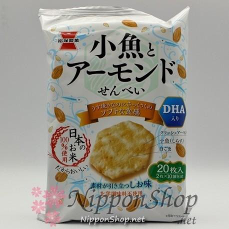 Kozakana to Almond Senbei