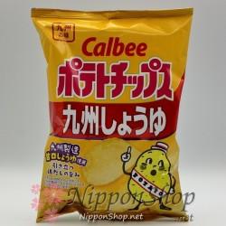 Calbee Kartoffelchips - Kyushu Shoyu