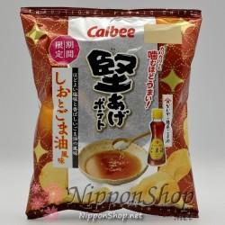 Calbee Kataage Potato Chips - Shio & Goma Oil