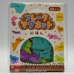 Flake Magnet - Japanische Präfekturen