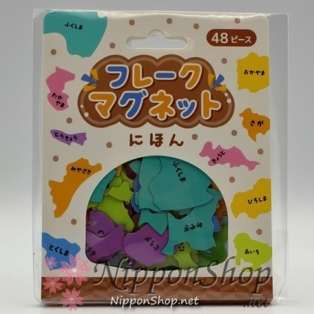 Flake Magnet - Japanese Prefectures