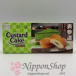 Custard Cake - Matcha Cheesecake