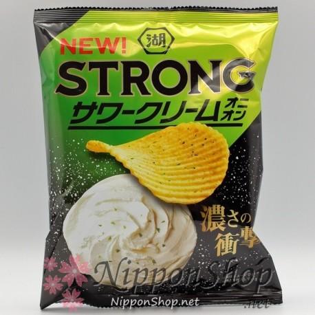 Koikeya Potato Chips STRONG - Sour Cream Onion